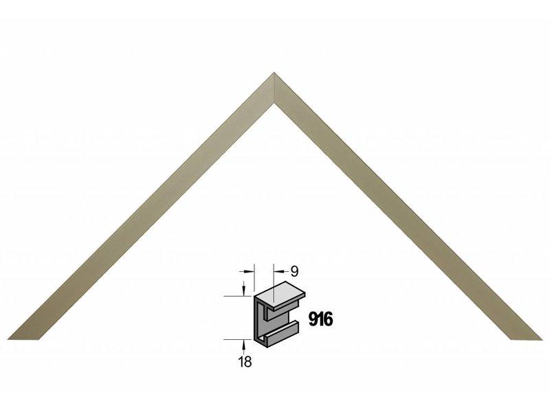 Barth Wissellijst aluminium wissellijst 916GR grijs