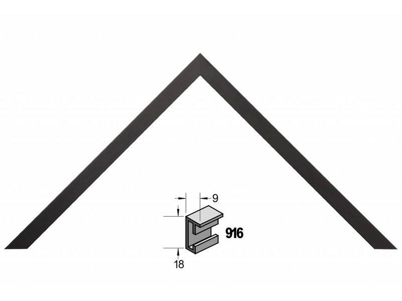 Barth Wissellijst aluminium wissellijst 916ZW zwart
