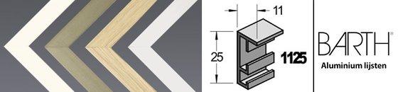 Aluminium serie Barth 1125