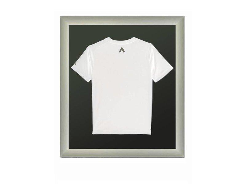 DLF Pro Line XL mat gepolijst titaan, lijst voor t-shirt in te lijsten