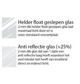 DLF 20x25 cm zilver Pro Line wissellijst  extra solide fotolijsten met een smal profiel.