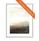 DLF 20x30 cm zilver Pro Line wissellijst  extra solide fotolijsten met een smal profiel.