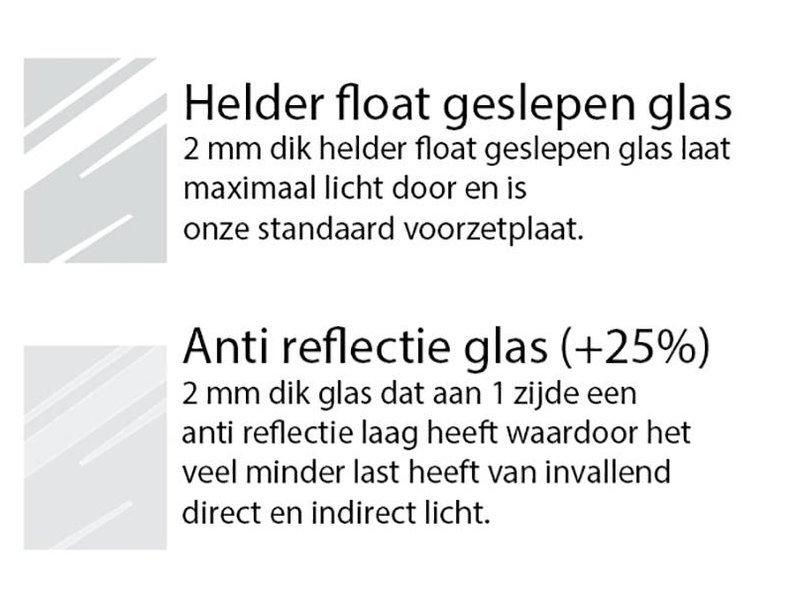 DLF 28x35 cm zilver Pro Line wissellijst  extra solide fotolijsten met een smal profiel.