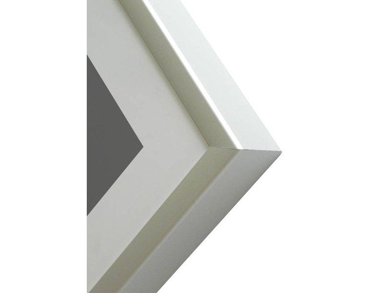 DLF 20x28 cm zilver Pro Line wissellijst  extra solide fotolijsten met een smal profiel.