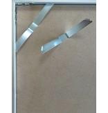 DLF 60x80 cm zilver Pro Line wissellijst  extra solide fotolijsten met een smal profiel.