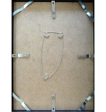 DLF 62x93 cm zilver Pro Line wissellijst  extra solide fotolijsten met een smal profiel.