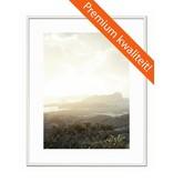 DLF 24x30 cm witte Pro Line wissellijst  extra solide fotolijsten met een smal profiel.