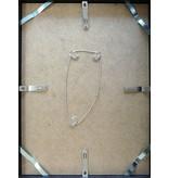 DLF 70x70 cm zwarte Pro Line wissellijst  extra solide fotolijsten met een smal profiel.