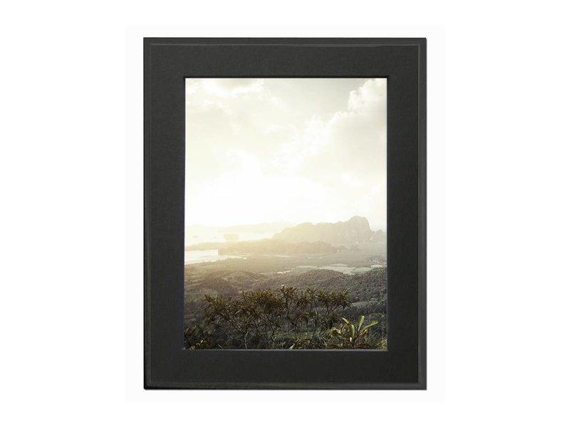 DLF 70x90 cm zwarte Pro Line wissellijst  extra solide fotolijsten met een smal profiel.