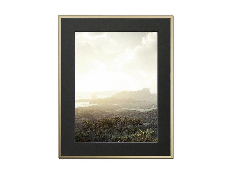 DLF 29,7x42 cm (A3) champagne Pro Line wissellijst  extra solide fotolijsten met een smal profiel.