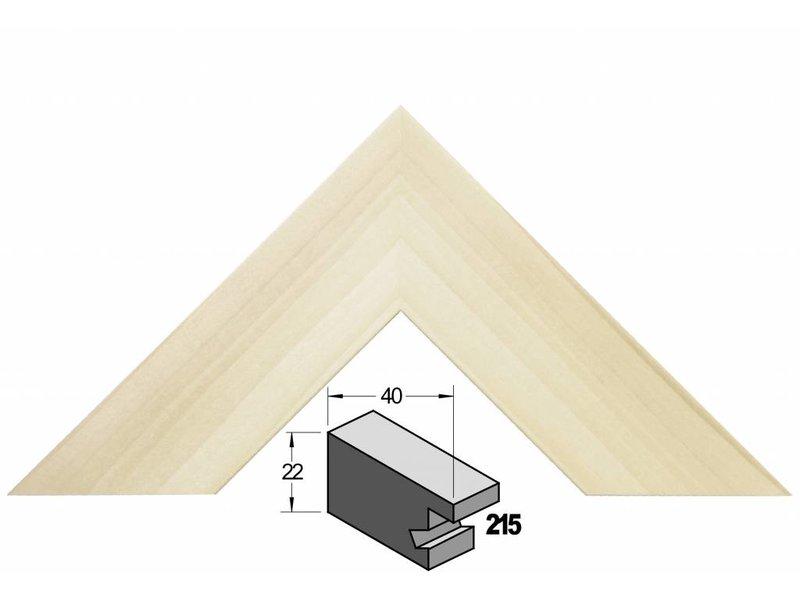 Barth Brede blank populier houten Barth wissellijst 215-777