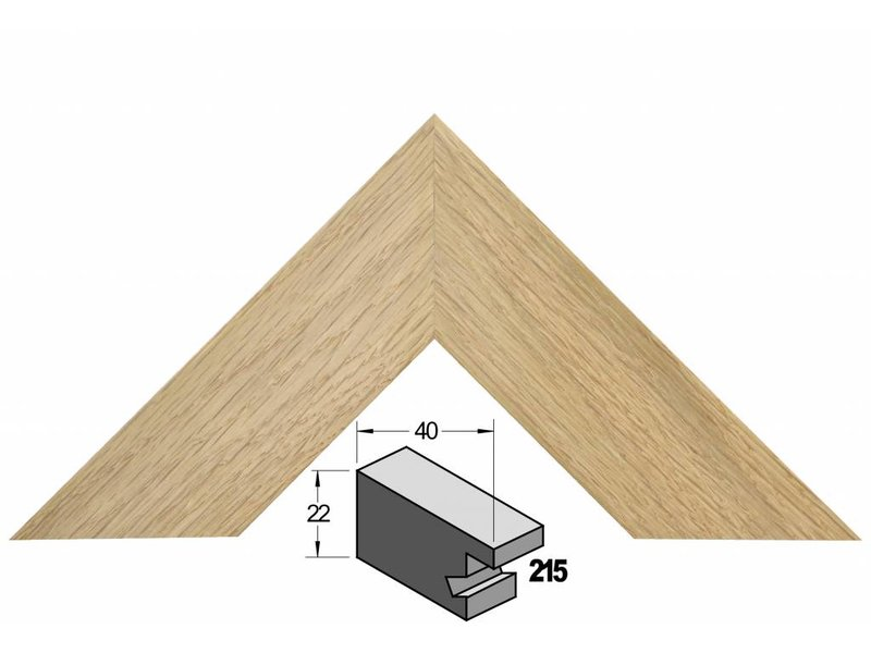 Barth Brede eiken houten Barth wissellijst 215-222