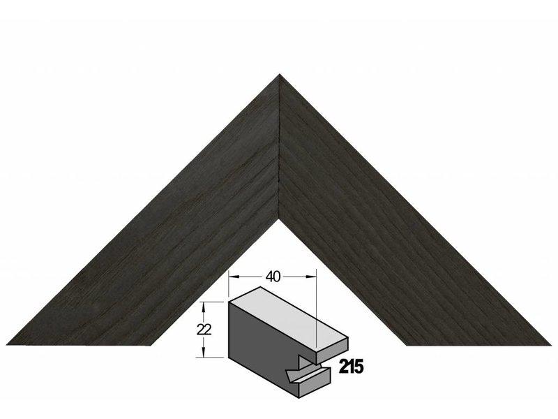 Barth Brede zwart essen houten Barth wissellijst 215-711