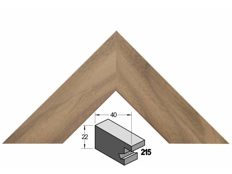 Barth Brede Amerikaans noten houten Barth wissellijst 215-555