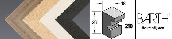 Wissellijst hout serie Barth 210