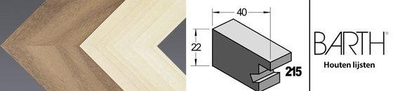 Wissellijst hout serie Barth 215