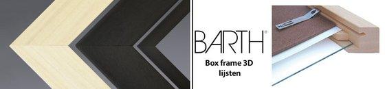 Barth box frame 3D houten lijsten