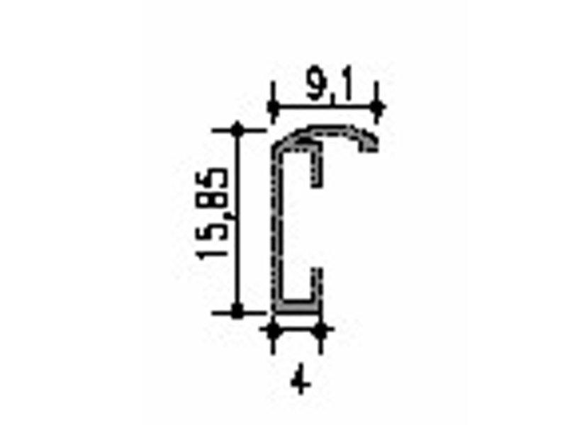 DLF Busines B-Line wissellijst mat zwart, voordelige wissellijsten