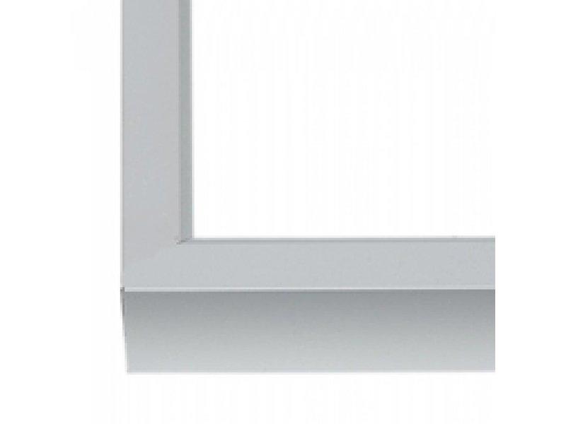 DLF Wissellijst 70 x 100 cm D-Line mat zilver, outlet aanbieding - alleen afhalen