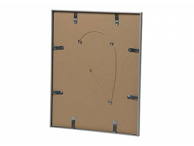 DLF Wissellijst 40 x 50 cm D-Line mat zilver, outlet aanbieding - alleen afhalen