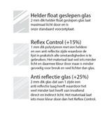 DLF Wissellijsten Premium wit gewassen - houten lijsten