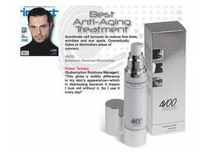 4VOO huidverzorging man maximum renewal moisturizer - vochtinbrengende verzorging