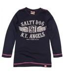 Salty Dog T-shirt dark blue, wintercollectie meisjes
