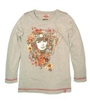 Salty Dog T-shirt meisjes grey SG10073408
