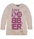Dobber T-shirt grey melange smoke  DG81007403