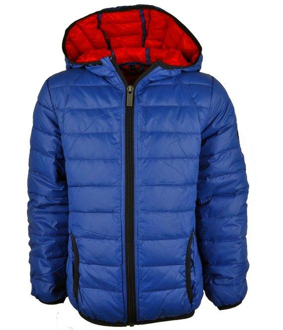 Reset Packable zomerjas blauw, kinderjassen jongens