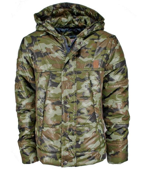 Retour Denim Delux Camouflage winterjas voor jongens