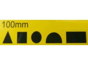 Naaldvijlen Set Mini 100mm Diamant - 5 stuks