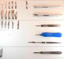 Klingen fur Hobbymesser und Skalpell klingen