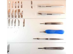 Blades for Hobby knifes and scalpel blades