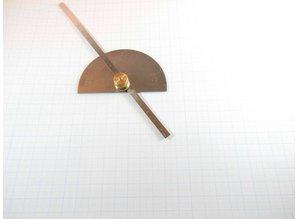 Winkelmesser, Gradmesser mit Tiefenmessgerät
