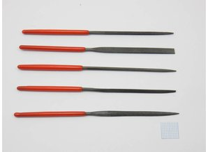 Naaldvijlen Set Mini 100mm - 5 st.