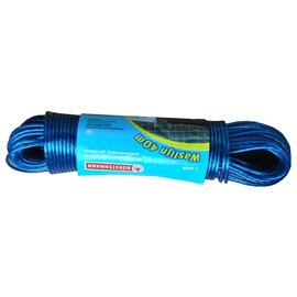 burstenmann Waslijn 40 meter blauw