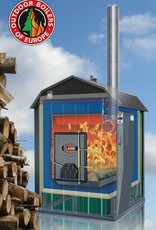 Outdoor Boilers of Europe E-classic | Rood-zwart Europe
