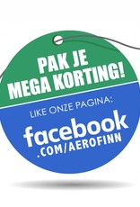 TCE Gofour AeroFinn 67mm middenflens