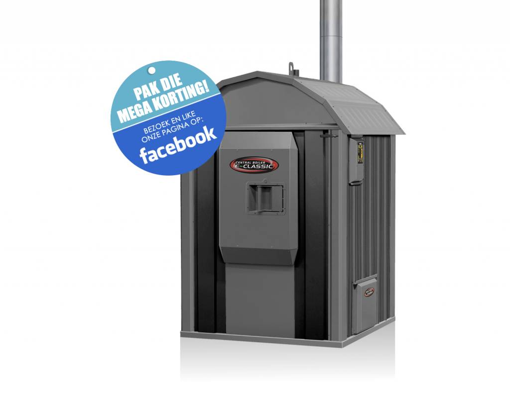 Outdoor Boilers of Europe E-classic | Antraciet-zwart Europe