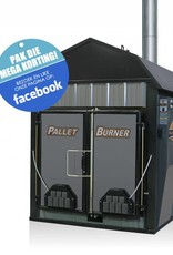 Outdoor Boilers of Europe Pallet Burner   Antraciet   duel fuel ready
