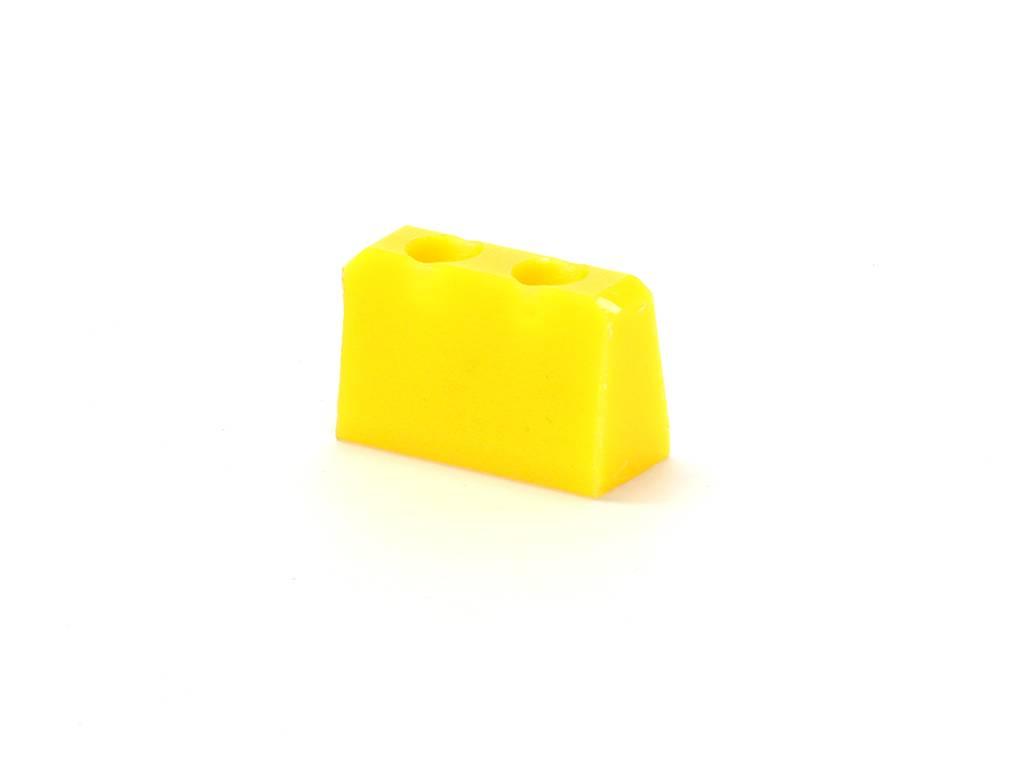 Finn BV Wedge 16mm geel Goldrunner hartafstand 10mm.