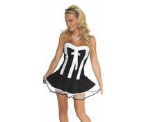 Rimba Erotic Fashion Serveerstersuniform, 3-Delig