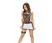 Rimba Erotic Fashion Serveerster Uniform, 3-Delig