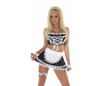 Rimba Erotic Fashion Dienster Uniform, 5 Delig