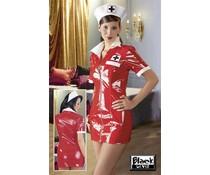 Black Level Lack-Krankenschwester-Set