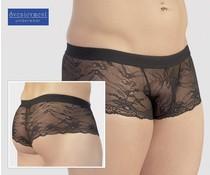 Svenjoyment Underwear Zwarte Kanten Short