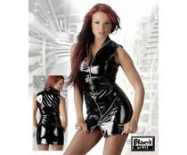 Black Level Lack-Minikleid