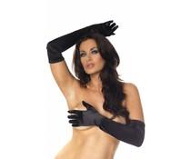 Rimba Erotic Fashion Lange Zwarte Handschoenen