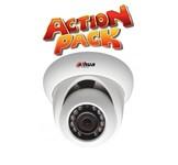 Bewakingscamera 3X Dome camera actie pakket